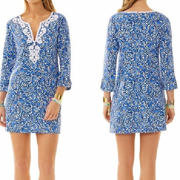 f3354f78794288 Lilly Pulitzer Dresses & Skirts - Lilly Pulitzer Julianna Embroidered Tunic  Dress